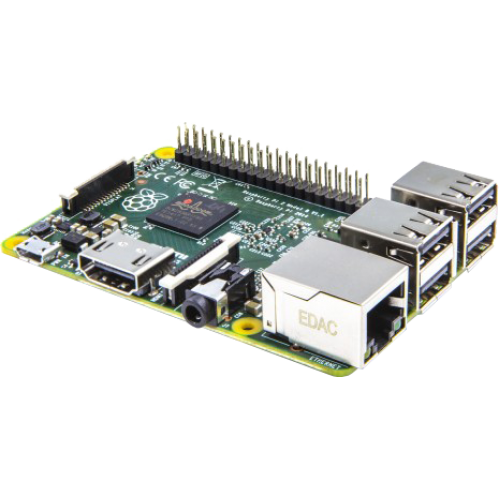 Raspberry Pi 2 Model B - 1GB RAM - Quad Core Single Board Computer