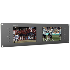 Lilliput RM-7028/S - 3U 3G-SDI Dual Rackmount Monitors