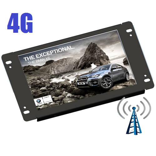 "Lilliput AD701/4G - 7"" openframe 4G advertisement media player"