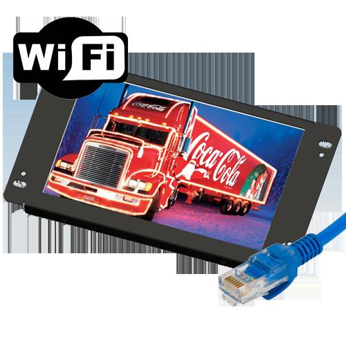 "Lilliput AD1201/LAN - 12"" openframe network advertisement player"