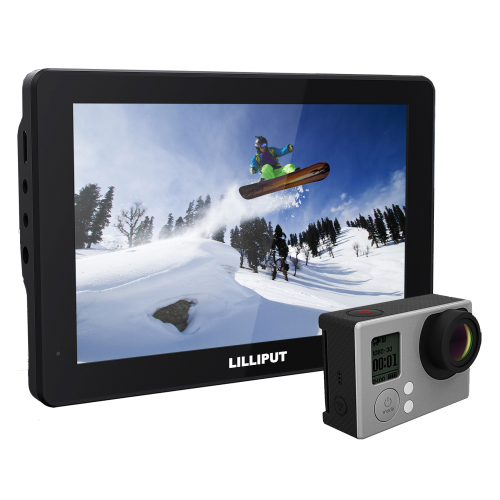 Lilliput MoPro7 - Sports Camera Monitor optimised for GoPro Hero