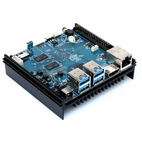 Odroid N2 -  4GB RAM big.Little architecture Board with ARM Cortex-A73 CPU + Cortex-A53 Cluster and Mali-G52 GPU