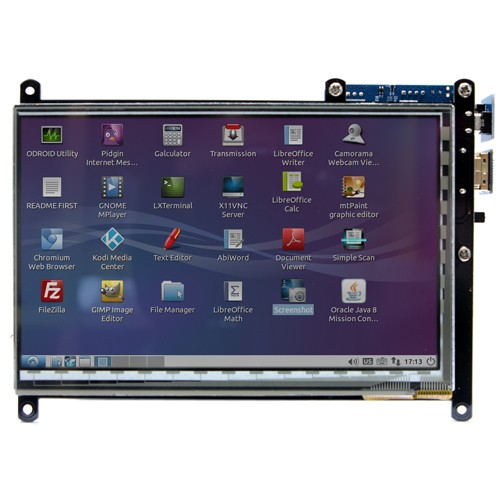 Odroid VU 7 - 7 inch HDMI display with Multi-touch