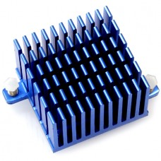 Odroid 40 x 40 x 25 mm Tall Blue Heat Sink