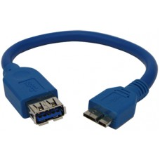 Odroid USB3.0 Micro-A to Standard-A Host cable [77915]