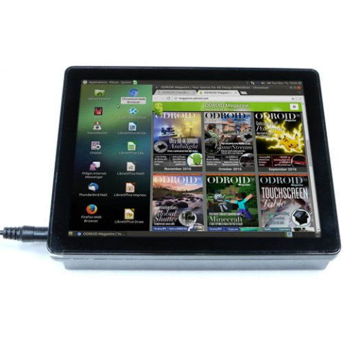 Odroid VU8C 8inch Touch Display Shell Kit (C1+/C2 only)