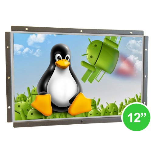 "Odroid Based 12"" Open Frame Touchscreen Panel PC"