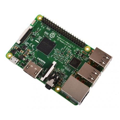 Raspberry Pi 3 Model B - Quad Core 64 Bit Single Board Computer