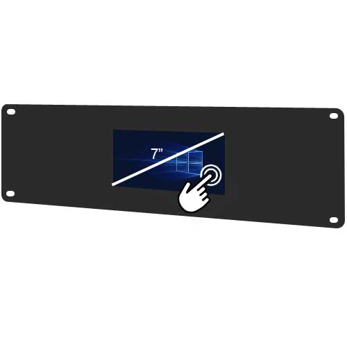 Lilliput RM-669/T/1 - 4U HDMI Single Rackmount Touchscreen Monitor