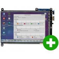 ODROID VU7A Plus: 7inch 1024 x 600 HDMI display with Multi-touch