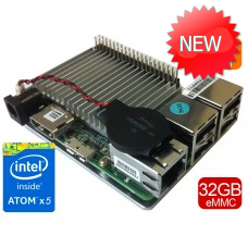 UP board 2GB + 32 GB eMMC memory with Intel Atom x5 processor