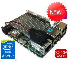 UP board 4GB + 32 GB eMMC memory with Intel Atom x5 processor